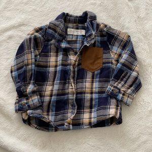 Zara flannel button down